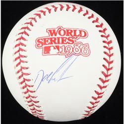 """Dwight """"Doc"""" Gooden Signed 1986 World Series Baseball (Schwartz COA)"""