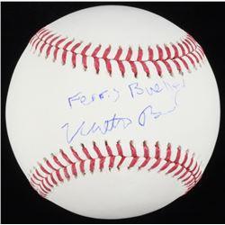 "Matthew Broderick Signed OML Baseball Inscribed ""Ferris Bueller"" (Schwartz COA)"