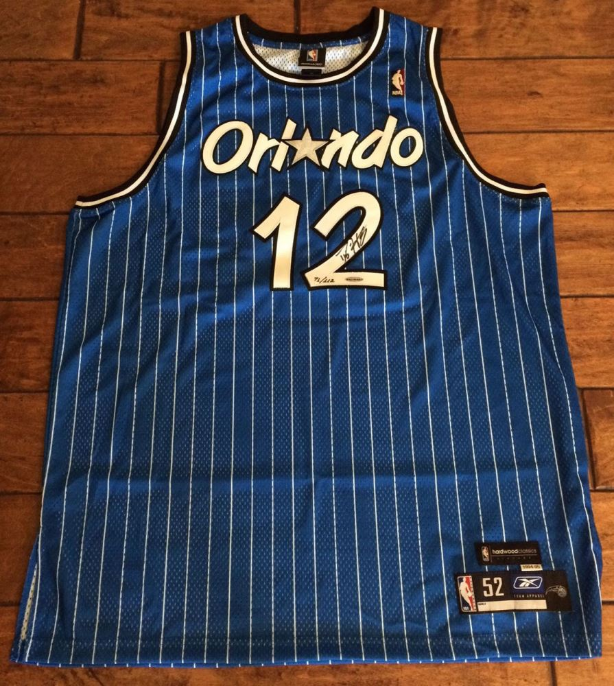 sale retailer fe34a 79a23 Dwight Howard Signed Magic Limited Edition Throwback Jersey