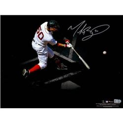 Mookie Betts Signed Red Sox 11x14 Photo (Fanatics Hologram)