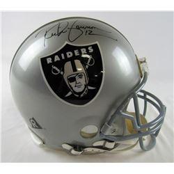 Rich Gannon Signed Raiders Full-Size Authentic Pro-Line Helmet (JSA Hologram)