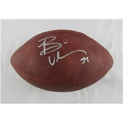 Brian Urlacher Signed Official NFL Game Ball (Steiner Hologram)