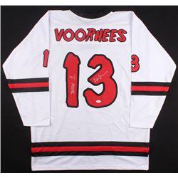 """Ari Lehman Signed """"Friday the 13th"""" Hockey Jersey Inscribed """"Jason 1"""" (JSA COA)"""