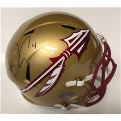 Dalvin Cook Signed Florida State Seminoles Full-Size Speed Helmet (JSA COA)