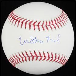 Matthew Broderick Signed OML Baseball (Schwartz COA)