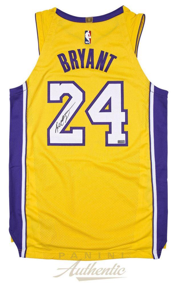 c46972a454a Image 1   Kobe Bryant Signed Lakers Nike Jersey (Panini COA)