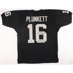 "Jim Plunkett Signed Raiders Jersey Inscribed ""SB XV MVP"" (Radtke Hologram)"