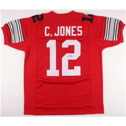 Cardale Jones Signed Ohio State Buckeyes Jersey (JSA COA)