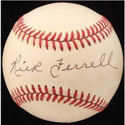 Rick Ferrell Signed OAL Baseball (JSA COA)