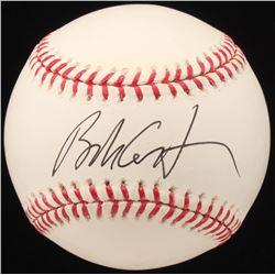 Bob Costas Signed OML Baseball (JSA COA)