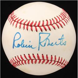 Robin Roberts Signed ONL Baseball (JSA COA)