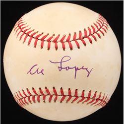 Al Lopez Signed ONL Baseball (JSA COA)
