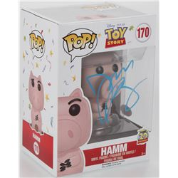 "John Ratzenberger Signed ""Toy Story"" #170 Hamm Funko Pop! Vinyl Figure (JSA COA)"
