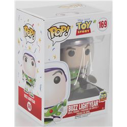 "Tim Allen Signed ""Disney/Pixar's Toy Story"" #169 Buzz Lightyear Funko Pop! Vinyl Figure (JSA COA)"