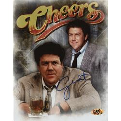 "George Wendt Signed ""Cheers"" 8x10 Photo (MAB Hologram)"