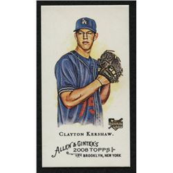 2008 Topps Allen and Ginter #72 Clayton Kershaw RC