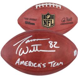"Jason Witten Signed ""The Duke"" Official NFL Game Ball Inscribed ""America's Team"" (Fanatics Hologram)"