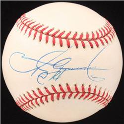 Sammy Sosa Signed OML Baseball (JSA COA)