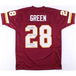 "Darrell Green Signed Redskins Jersey Inscribed ""HOF '08""  ""SB XXII, XXVI Champ"" (JSA COA)"