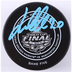 Lars Eller Signed 2018 Stanley Cup Final Hockey Puck (Fanatics Hologram)