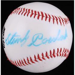 "Stan Coveleski Signed Baseball Inscribed ""7-91-81"" (JSA LOA)"