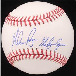 "Nolan Ryan Signed OML Baseball Inscribed ""The Ryan Express"" (AI Verified COA  Ryan Hologram)"