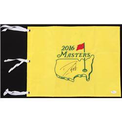 Danny Willett Signed 2016 Masters Pin Flag (JSA COA)