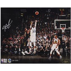 "Kevin Durant Signed Warriors ""Clutch"" 16x20 Limited Edition Photo (Panini COA)"