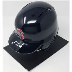 J.D. Martinez Signed Red Sox Full-Size Batting Helmet (Steiner COA)