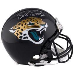 Blake Bortles Signed Jaguars Full-Size Authentic On-Field Helmet (Fanatics Hologram)