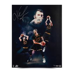 """Kevin Love Signed Cavaliers """"Ring Night"""" 16x20 Limited Edition Photo (UDA COA)"""