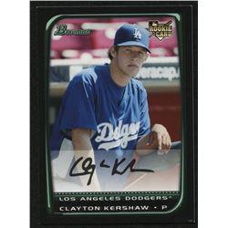 2008 Bowman Chrome Draft #BDP26a Clayton Kershaw RC