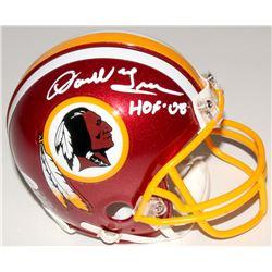 """Darrell Green Signed Redskins Mini Helmet Inscribed """"HOF 08"""" (JSA COA)"""
