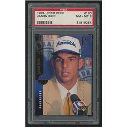 1994-95 Upper Deck #160 Jason Kidd RC (PSA 8)