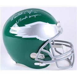 "Randall Cunningham Signed Eagles Full-Size Helmet Inscribed ""Ultimate Weapon"" (JSA COA)"