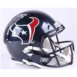 Jadeveon Clowney Signed Texans Full-Size Speed Helmet (JSA COA)
