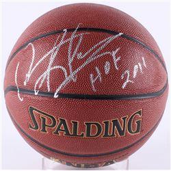 "Dennis Rodman Signed Spalding Basketball Inscribed ""HOF 2011"" (Schwartz COA)"