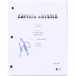 "Sebastian Stan Signed ""Captain America: The First Avenger"" Full Movie Script (Beckett COA)"