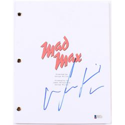 "Mel Gibson Signed ""Mad Max"" Full Movie Script (Beckett COA)"