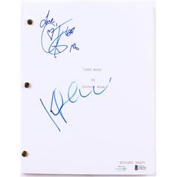 "Cory Feldman  Kiefer Sutherland Signed ""Lost Boys"" Full Movie Script Inscribed ""Love,"" (Beckett COA)"