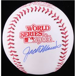 Jack Morris Signed 1984 World Series Logo Baseball (Schwartz COA)