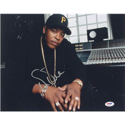 Dr. Dre Signed 11x14 Photo (PSA LOA)