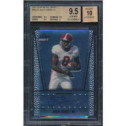 2011 Leaf Metal Draft #RCJJ2 Julio Jones (BGS 9.5)