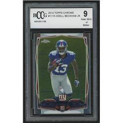 2014 Topps Chrome #117A Odell Beckham Jr. RC (BCCG 9)