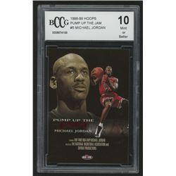 1998-99 Hoops Pump Up The Jam #5 Michael Jordan (BCCG 10)