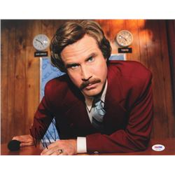 Will Ferrell Signed  Anchorman  11x14 Photo (PSA COA)