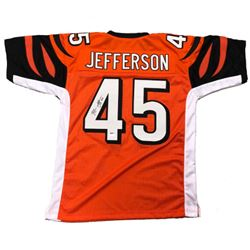 Malik Jefferson Signed Bengals Jersey (Jefferson Hologram)