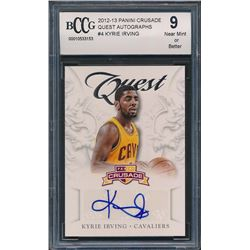 2012-13 Panini Crusade Quest Autographs #4 Kyrie Irving (BCCG 9)