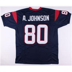 Andre Johnson Signed Texans Jersey (JSA COA)