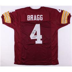 "Mike Bragg Signed Redskins Jersey Inscribed ""70 Greatest"" (JSA COA)"